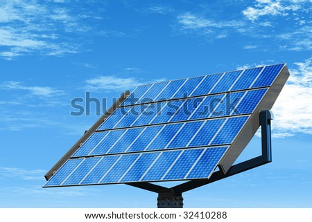 Rendering  of Single Solar Panel