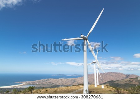 Renewable energy, windmills
