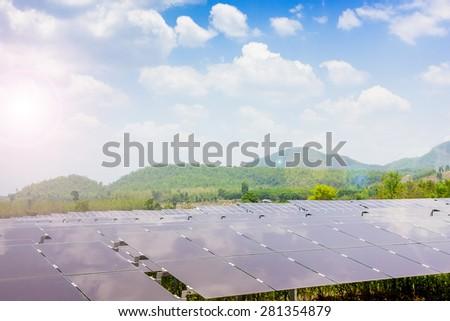 renewable solar energy Power plant