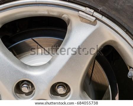 Renewed brake rotor #684055738