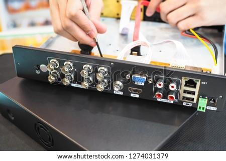 Repair of Digital video recorder.