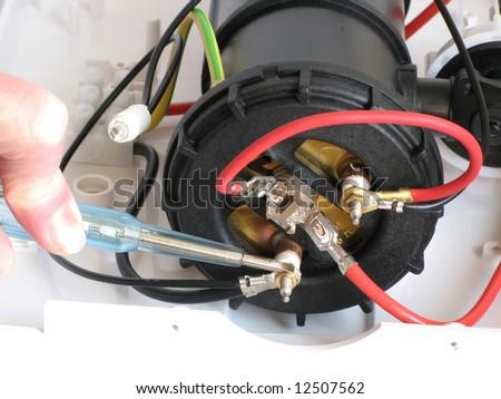 repair of electric water heater