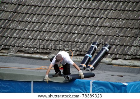 Repair on roof