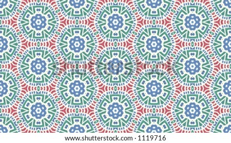 repeating pattern (copies of the image will tile together exactly)