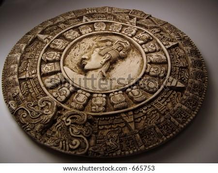 Replica Mayan Calendar