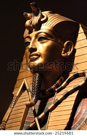 Replica of King Tut's Death Mask