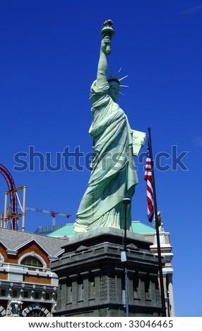 statue of liberty face las vegas. las vegas statue of liberty
