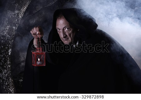 Representation of a character in the novel Frankenstein called Igor.The Lantern Of Diogenes