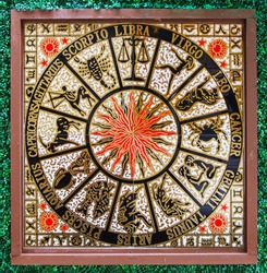 representing the twelve signs of the zodiac