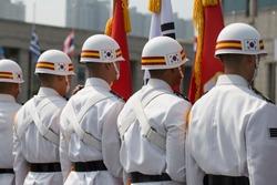 Republic of Korea Army military police helmet