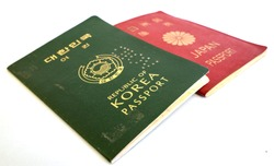 Republic of Korea (South Korea) Passport & Japan Passport
