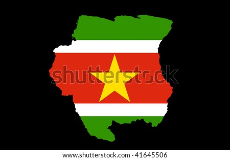 detailed map of suriname. wallpaper detailed map of