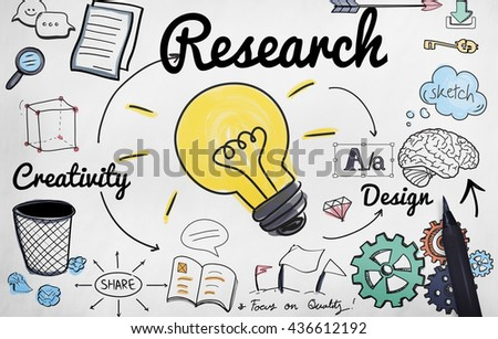 Research Creativity Design Improvement Concept