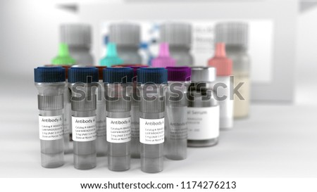 Research reagents tubes