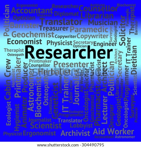 Researcher Job Meaning Hiring Researching And Explore