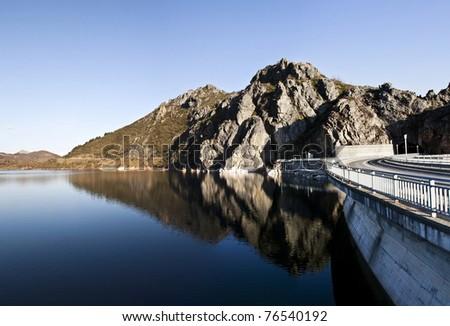 Reservoir Riaño, Leon