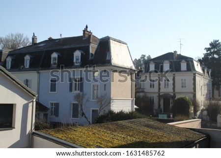 Residential bourgeois buildings in Alsace
