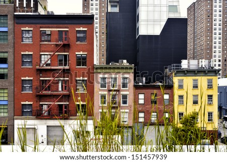 Residential Buildings in New York City