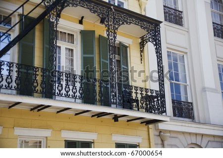 Residential district in New Orleans
