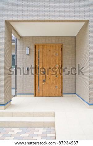 Residential entrance doors