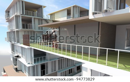 Residential rendered