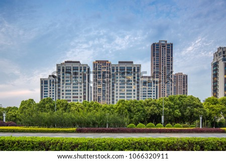 Residential residential building #1066320911