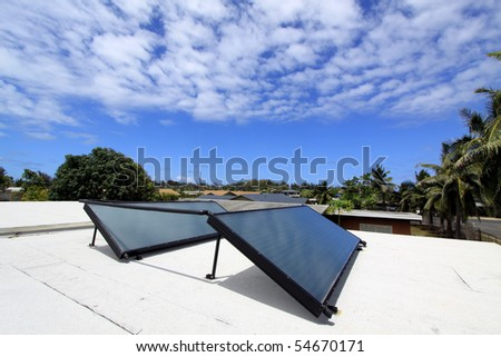 residential solar water system