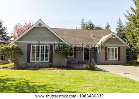 Residential suburban home #1083480839