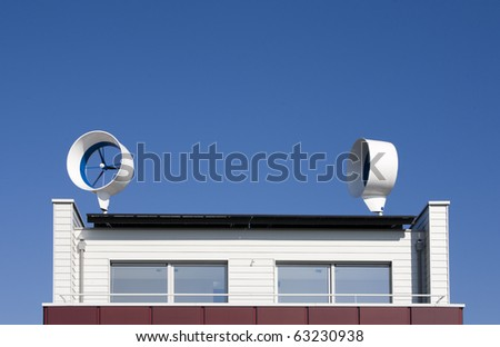 Residential wind turbines