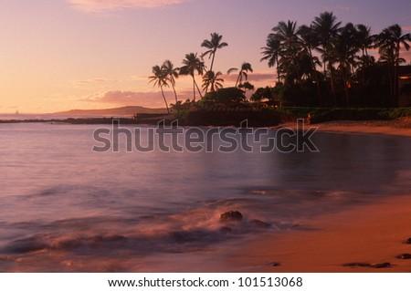 Resort hotel in Hanapepe Bay, Kauai, Hawaii