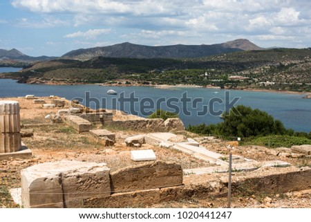 Resorts of Greece the sea and antiquity #1020441247