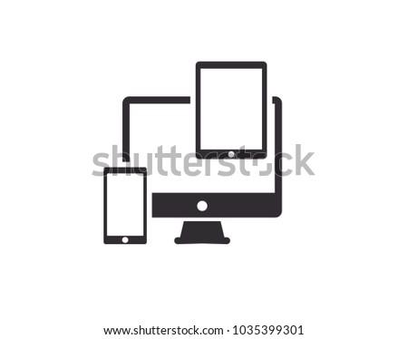 Responsive web design - Shutterstock ID 1035399301
