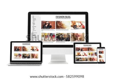 Responsive web design #582599098