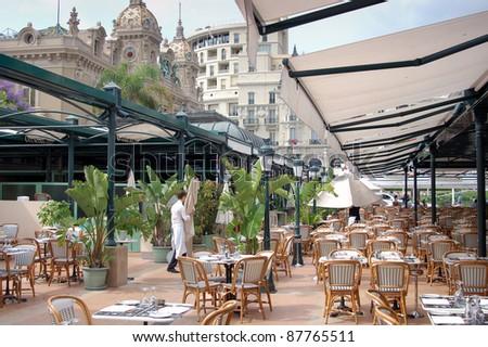 Restaurant at Monte Carlo Casino
