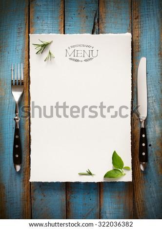 Restaurant cafe menu, template design. Food flyer #322036382