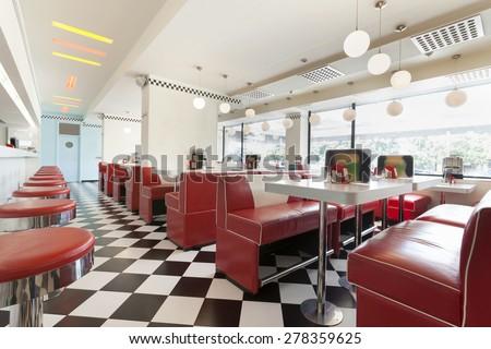 restaurant diner Сток-фото ©