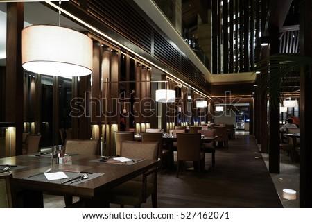 Restaurant interior #527462071