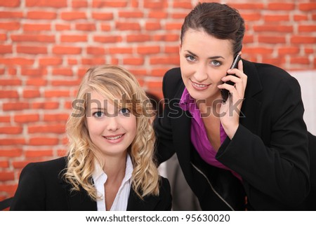 Restaurant management - stock photo