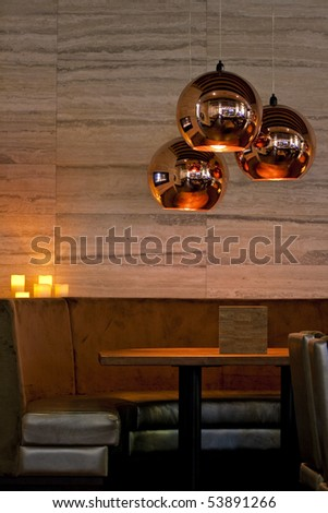 Restaurant Style Lounge Seating Area