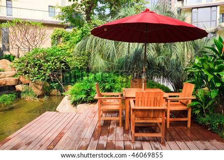Garden  Beach patio umbrellas
