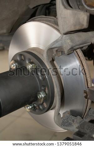 Restoration car brake system #1379051846