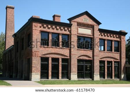 Restored nineteenth century factory