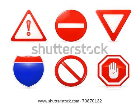 Restrictive signs, Bitmap copy
