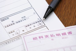 Resume in Japanese. Translation: commute time, hours, minutes, dependents, non-spouse, spouse, dependents, yes, no, please indicate if you have a preference, salary history, year, month.