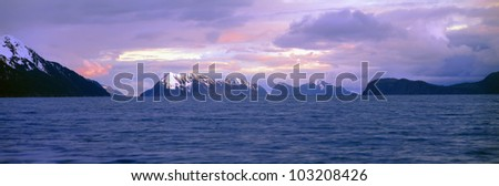 Resurrection Bay and Kenai Fjords National Park, Kenai Peninsula, Alaska