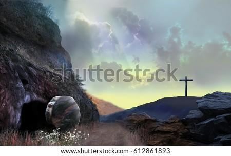 Resurrection Light Beams