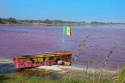 Retba lake - Sénégal