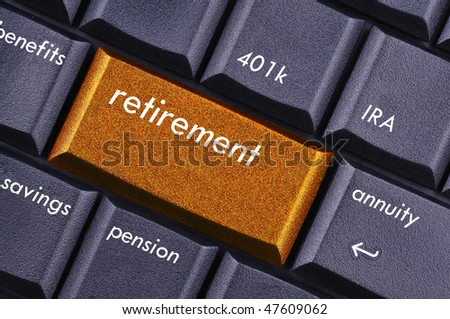 retirement - stock photo