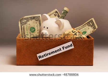 Retirement Money in a Box.