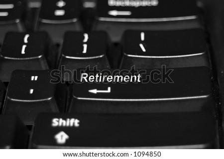 Retirement on keyboard